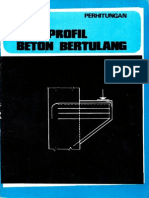 Perhitungan Profil Beton Bertulang