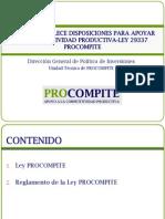 1 Ley de Procompite