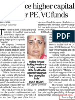 Banks Face Higher Capital Adequacy Ratio Part 1 The BUsiness Standard 09 September, 2010
