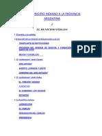 Del Municipio Indiano a La Provincia Argentina