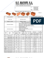 Elemente Pentru Zidarie Din Argila Arsa