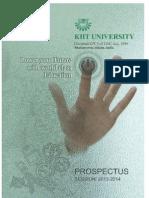 Kiitee 2013 Prospectus