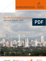 Stockholm Resilience Centre Annual Report 2012