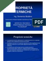 B4 - ProprTermiche