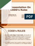 Codd's Rule