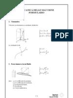formulario meccanica applicata