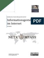 Tipps und Tricks zur Informationsgestaltung im Internet