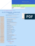 Electronic Seminars Topics Latest Electr