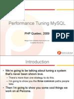 Performance Tuning MySQL