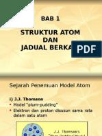 Bab 1 Struktur Atom