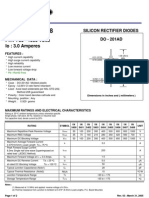 1N5403 Silicon Rectifier Diode