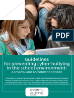 Ciberbulling Guidelines