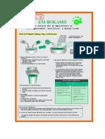 Bokashi Making Leaflet 3