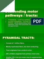 Lect 1 Descending Motor IMPROVED Pathways