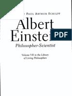 Albert Einstein - Philosopher Scientist
