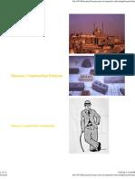 Masonry Construction Patterns