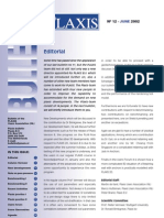 12 PLAXIS Bulletin