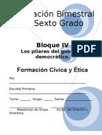 6to Grado - Bloque 4 - Cívica y ética