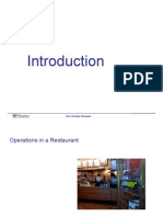 Introduction to operation management