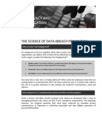 The Science of Breach Prevention and the Art of Breach Response