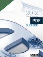Audison General Catalogue 2012