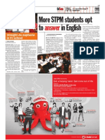 thesun 2009-03-11 page09 more stpm students opt to answer in english
