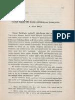 3-M.Münir Aktepe - Naimâ Târîhi'nin Yazma Nüshaları Hakkında