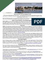 Jumaa Prayer 22 March 2013