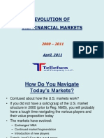 Evolution of US Markets - 2000-2011 0405