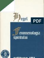 G. W. F. Hegel-Fenomenologia Spiritului-IRI (2000)