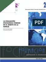 evaluacion de psicología forense  en el ambito de la familia