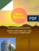 Indian Companies Act - Directors