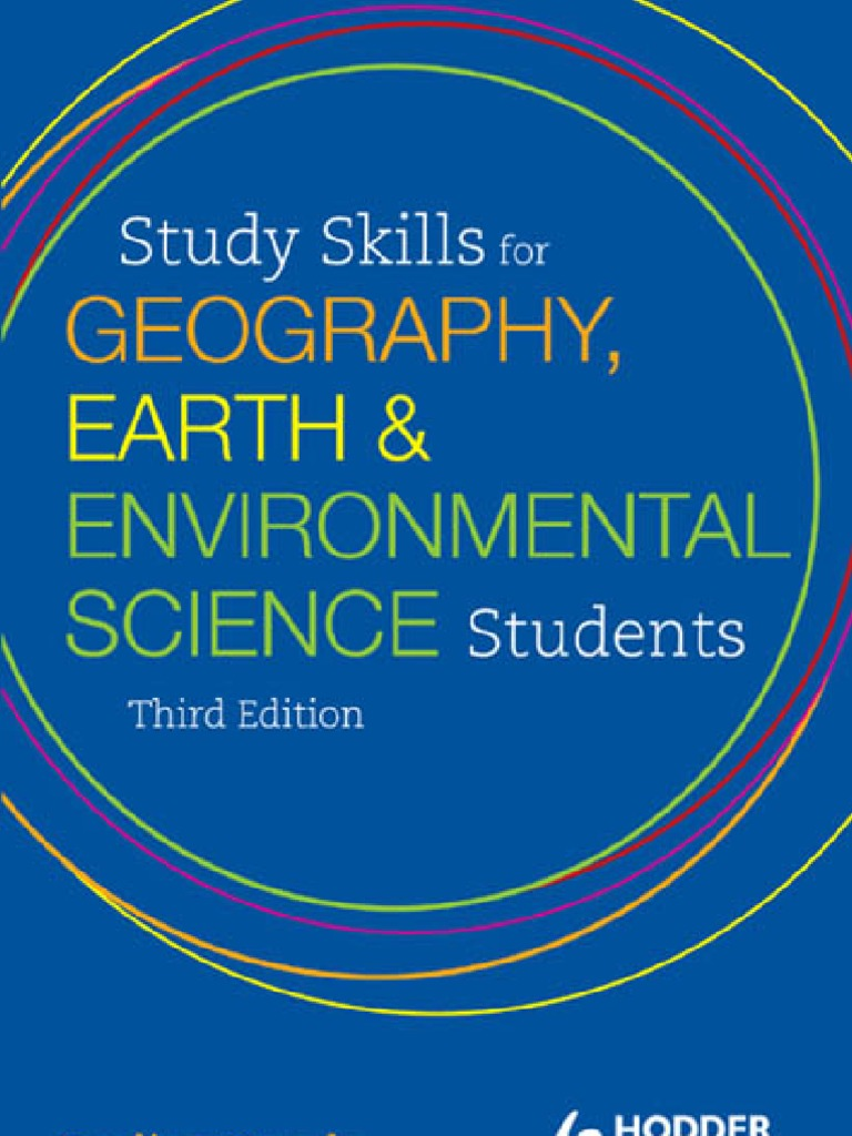 Study Skills for Geography, Earth and Environ. Sci. 3rd ed. - P ...
