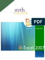 Excel2007_TrainingManual_Advanced