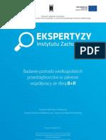 Badanie potrzeb wielkopolskich przedsiębiorców w zakresie współpracy ze sferą B+R