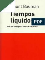 Bauman Z. - Tiempos Liquidos