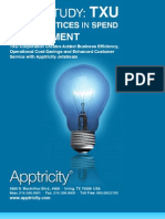 Best Practices in Spend Management - Case Study by Apptricity