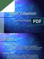 Bond Valuation Module