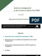 Marouane Harmach Et Wail Aaminou- Conduite Changement PMO-PPM2013 - Management de Projet