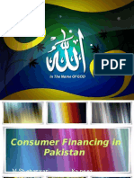 Consumer Financing in Pakistan