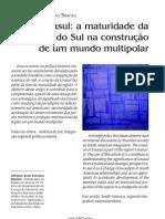 Unasul - Antonio José Ferreira Simões