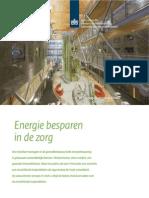 Factsheet Energie Besparen in de Zorg
