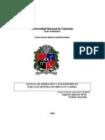 BOCATOMA Manual Operacion Mantenimiento