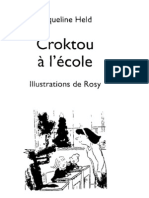 Livre D'apprentissage De La Lecture - Croktou À L'école Ce1 - Zecol