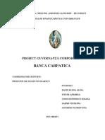 Banca Carpatica- Referat Guvernanta FINAL.1