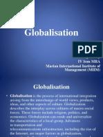 Globalisation - Anoop
