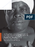 Statelessness and Nationality in South Africa