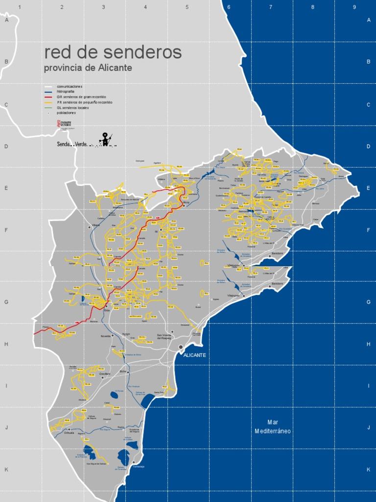 Red Senderos Alicante [Homologados Senderismo