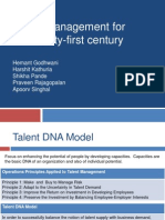 Talent DNA Model
