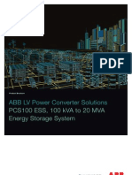 Pcs100 Ess Energy Storage System